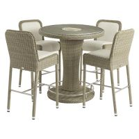 Bramblecrest Monte Carlo Round Bar Set with Stools - image 5
