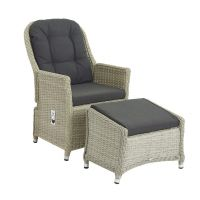 Bramblecrest Monterey Recliner Set with 2 Footstools & Ceramic Top Side Table - image 4
