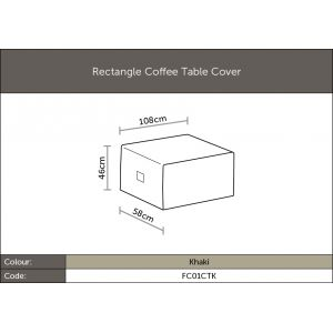 Bramblecrest Rectangle Coffee Table Cover - image 2