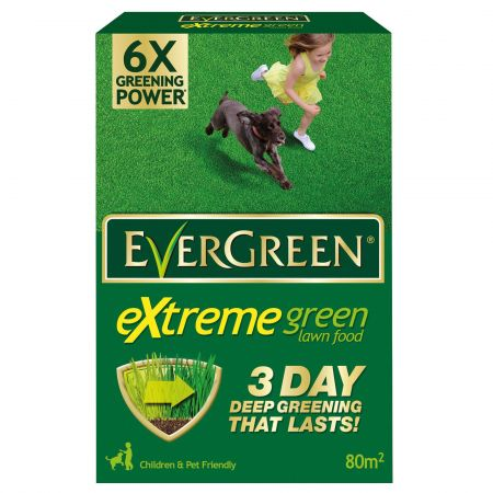 Evergreen ® Extreme Green Lawn Feed 80 m² 2.8kg