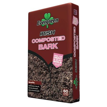 Evergreen Irish Composted Bark 60L
