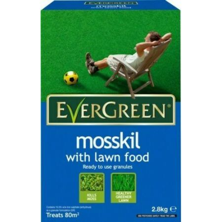 EverGreen® Mosskil with Lawn Food 2.8kg 80m5