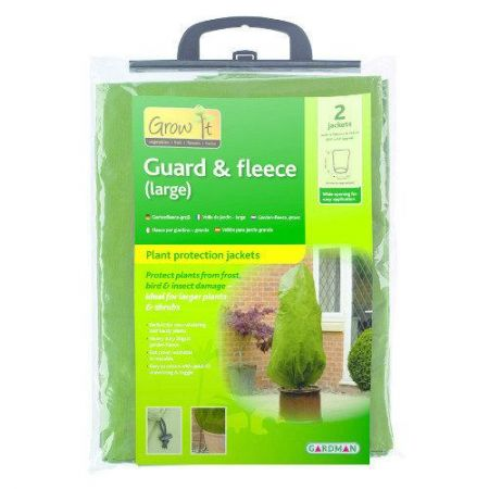 Gardman's Guard & Fleece Large Frost Protection Jackets (2 Pack)
