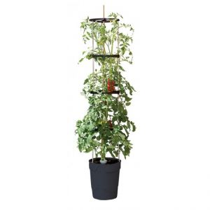 Garland Self Watering Grow Pot Tower in Anthracite  - image 2