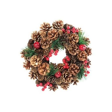 Hogewoning 30cm Berry Bauble Wreath
