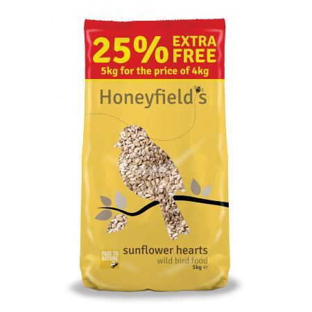 Honeyfields Sunflower Hearts 5Kg