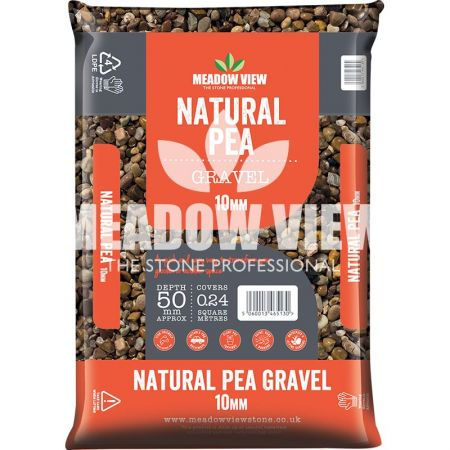 Meadow View Natural Pea Gravel 10mm - image 1