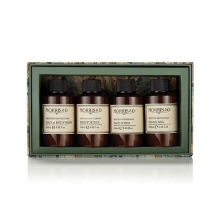 Morris & Co. Gentleman's Travel Grooming Set