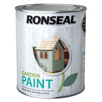 Ronseal Garden Paint in Moroccan Red 750ml - image 1