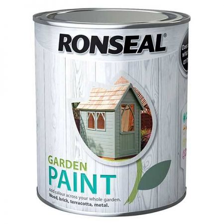 Ronseal Garden Paint in White Ash 750ml - image 1