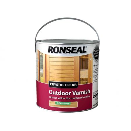 Ronseal Varnish Clear Matt