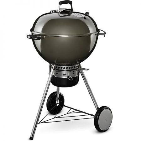 Weber 57cm Master-Touch GBS Charcoal BBQ in Smoke Grey