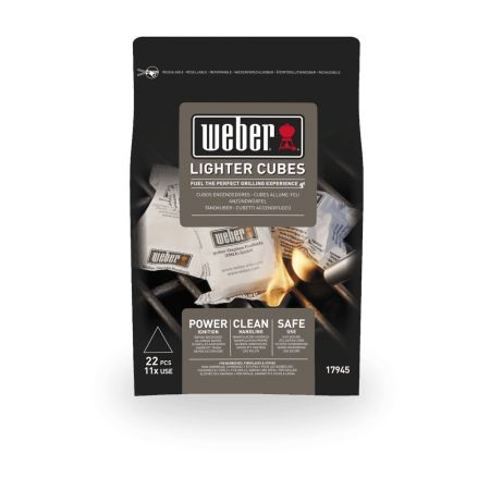Weber Lighter Cubes (22 Pieces)