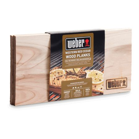 Weber Western Red Cedar Wood Planks (Small)